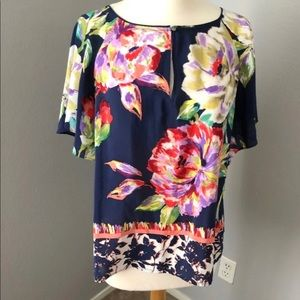 Maeve Anthropologie Floral Top